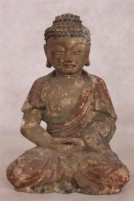 木雕佛像拍卖预展,作品拍卖估价