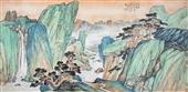 0092 段七丁 山水