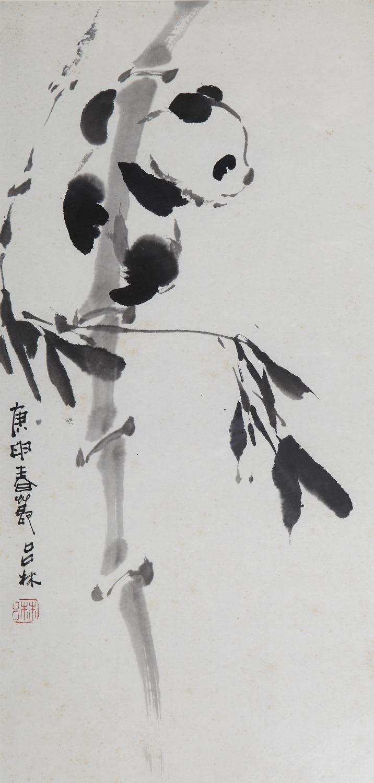 中国熊猫第一部海报