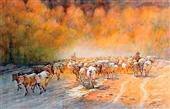 0017 毛国保 新疆牧歌
