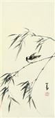 0164 溥儒 翠鸟