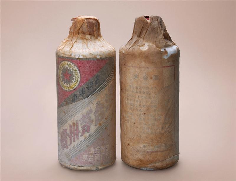 """1983-1986年""""五星牌""""内销贵州茅台酒(地方国营)(绵纸)"""
