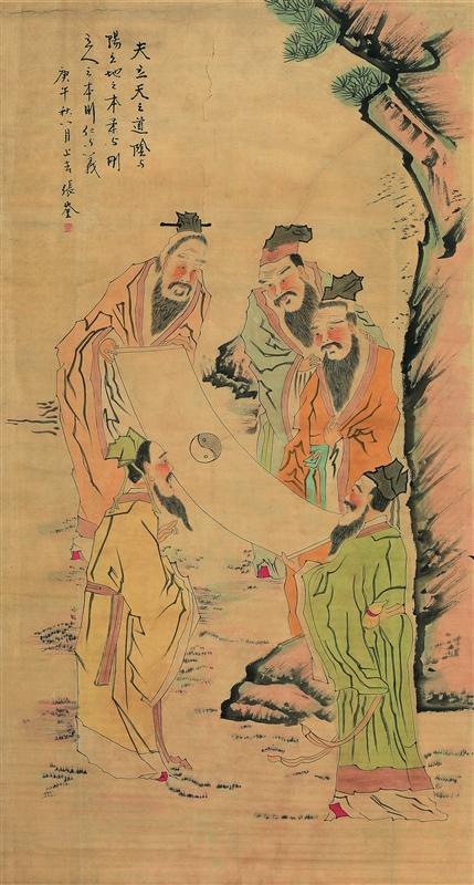 张奎耀山水花鸟画